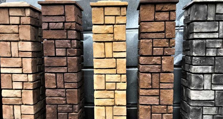 Изготовление декоративных заборных блоков в Махачкале